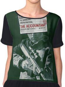 The Accountant Movie Chiffon Top