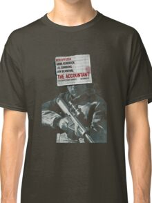 The Accountant Movie Classic T-Shirt