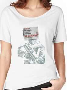 The Accountant Movie Women's Relaxed Fit T-Shirt