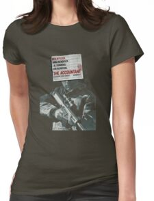 The Accountant Movie Womens Fitted T-Shirt