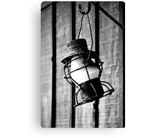 Vintage Oil Lamp Canvas Print