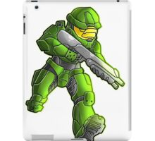 master chief (halo) iPad Case/Skin