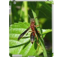 Red Wasp iPad Case/Skin