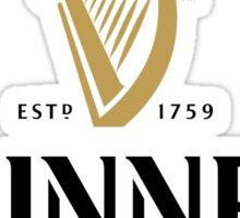 Guinness Logo Sticker