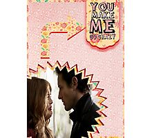 My Teenwolfed Valentine [You Make Me Go Crazy] Photographic Print