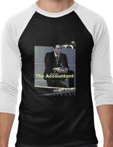 Ben Afleck The Accountant Men's Baseball ¾ T-Shirt