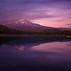 Twilight at Trillium Lake by Brandt Campbell