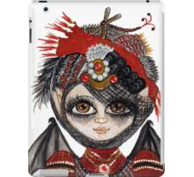 Lucy Kate with Steampunk Party Hat iPad Case/Skin