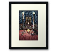 Everyday Witch Tarot - The High Priestess Framed Print