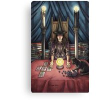 Everyday Witch Tarot - The High Priestess Canvas Print