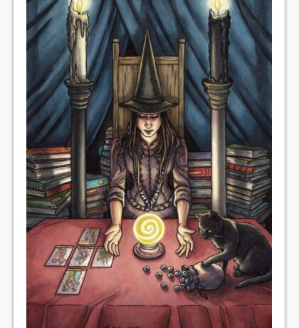 Everyday Witch Tarot - The High Priestess Sticker