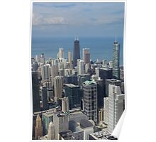 A view of the Windy City Poster