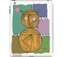 Orange Yarn Balls iPad Case/Skin