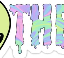 theta alien Sticker