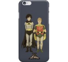 The Adventures of Hat-man and John the Boy Wonder iPhone Case/Skin