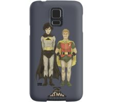 The Adventures of Hat-man and John the Boy Wonder Samsung Galaxy Case/Skin