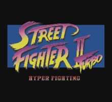 Street Fighter II Turbo by TWMTees