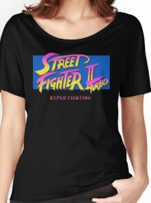 Street Fighter II Turbo Women's Relaxed Fit T-Shirt