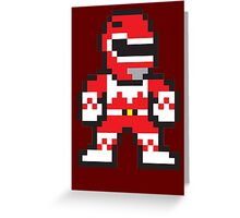 Red Ranger Greeting Card