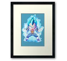 Vegeta Framed Print