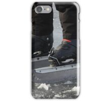 giant Ice Skate iPhone Case/Skin