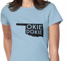 Okie Dokie Oklahoma Womens Fitted T-Shirt