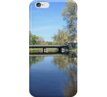 city garden spring landscape iPhone Case/Skin