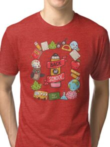 Back to School Tri-blend T-Shirt