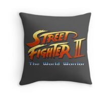 Street Fighter II: The World Warrior Throw Pillow