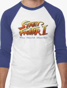 Street Fighter II: The World Warrior Men's Baseball ¾ T-Shirt