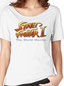 Street Fighter II: The World Warrior Women's Relaxed Fit T-Shirt