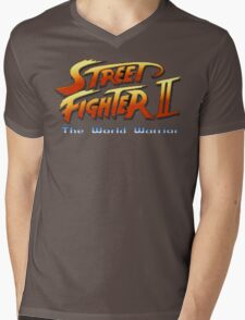Street Fighter II: The World Warrior Mens V-Neck T-Shirt