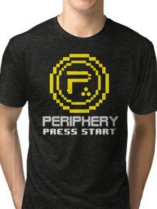 Periphery 8-bit Yellow/Ketchup vs. Mustard Tri-blend T-Shirt