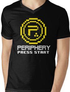 Periphery 8-bit Yellow/Ketchup vs. Mustard Mens V-Neck T-Shirt