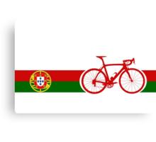 Bike Stripes Portugal  Canvas Print