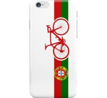 Bike Stripes Portugal  iPhone Case/Skin