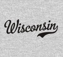 Wisconsin Script Black by USAswagg2