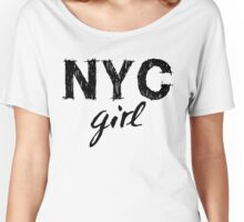 New York City girl Women's Relaxed Fit T-Shirt
