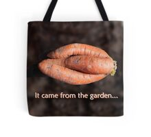 Close-Knit Carrot Tote Bag