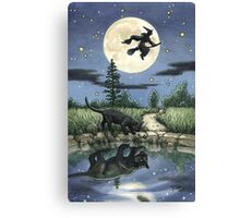 Everyday Witch Tarot - The Moon Canvas Print