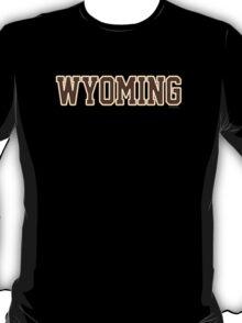 Wyoming Jersey Brown T-Shirt