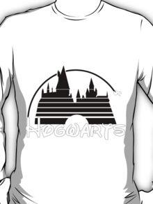 Hogwarts castle black T-Shirt