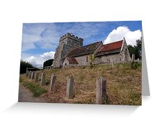 St Peter, Hamsey Greeting Card