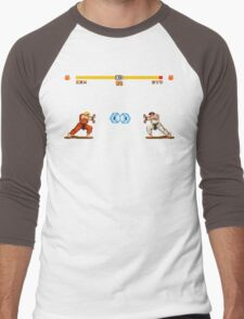 Ken vs. Ryu Men's Baseball ¾ T-Shirt