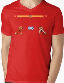 Ken vs. Ryu Mens V-Neck T-Shirt