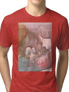 watercolor  Tri-blend T-Shirt