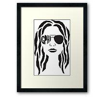 GPHI Girl Framed Print