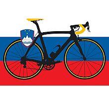 Bike Flag Slovenia (Big - Highlight) Photographic Print