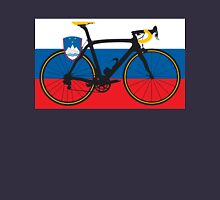 Bike Flag Slovenia (Big - Highlight) Unisex T-Shirt