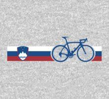 Bike Stripes Slovenia One Piece - Long Sleeve